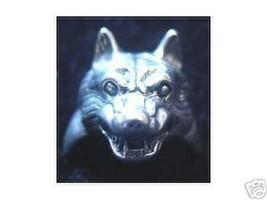 LOOK Wolf Werewolf 925 Silver Ring Gothic Underworld Lycan - $34.12