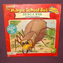 Magic School Bus Spins A Web a Book Spiders Scholastic 1997 Ex-Library - $9.89