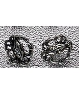 LOOK Zodiac Cancer Crab Real Sterling Silver Stud Earrings - $17.00
