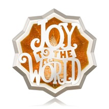 Joy Shines Bright 2014 Hallmark Ornament Joy to the World  Lord King Sta... - $6.87