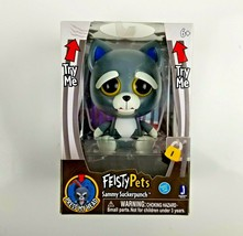 Feisty Pets Sammy Sucker Punch 4-Inch Figure Interactive Toy NEW SEALED - $9.99