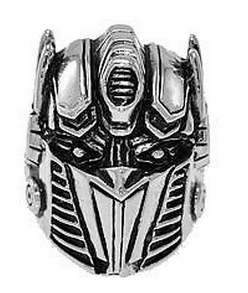 LOOK Optimus Prime Transformers Sterling silver autobot Ring