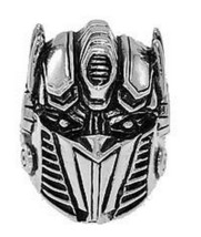 LOOK Optimus Prime Transformers Sterling silver autobot Ring - $75.07