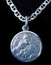 LOOK Jesus Christ Communion Silver Pendant charm Jewelry - $17.42