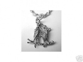 LOOK Love Bird Pendant charm Jewelry Sterling Silver Birds - $13.36