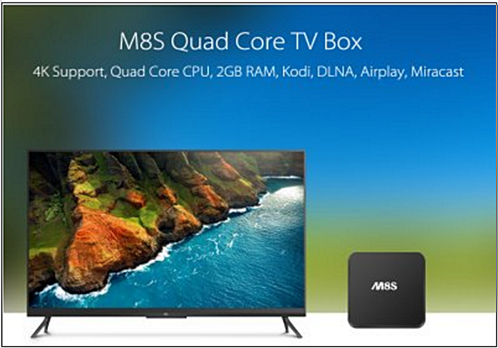 Android Internet TV M8S Spectra Quad Core TV and 50 similar items