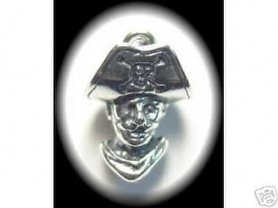 LOOK New PIRATE Pendant Charm Sailor Sterling Silver Jewelry