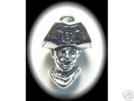 LOOK New PIRATE Pendant Charm Sailor Sterling Silver Jewelry - $15.14