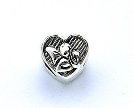 LOOK New Beautiful Guardian Angel Charm European bead for jewelry Sterli... - $14.35