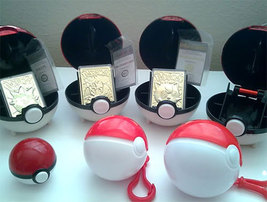 Pokeball  BK 1999  Gold Plated 23K  OUT-OF-PRINT -- Pick One - $45.00