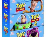 The Complete Toy Story Collection 1 2 & 3 (Blu-Ray Disc) Disney Pixar New