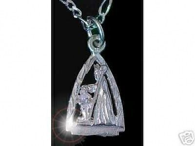 Primary image for LOOK Saint Patrick pendant charm Silver Staff Jewelry