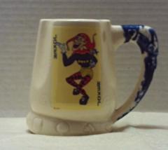 Vintage CANASTA Mug Jumbo Ceramic Mug Palm Springs Ceramics JOKER MUG - $15.00