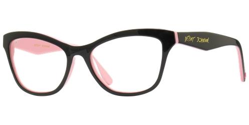 b42fb077fc3 Betsey johnson rockstar size 51 17 134 b 40 material zyl plastic color  black pink