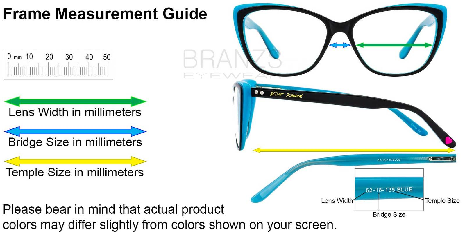 How To Measure Your Bridge Size For Glasses - Famous Glasses 2018