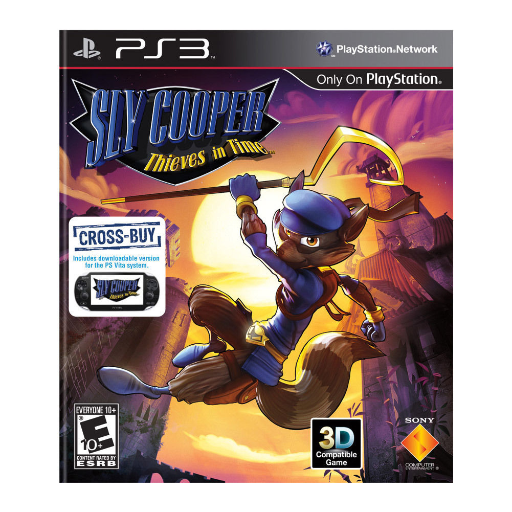Sly Cooper: Thieves in Time (Playstation 3) NEW Video Game PS3