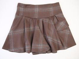 Brunello Cucinelli Wool Brown/Grey Skirt  US 8 ... - $133.24