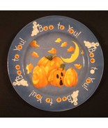 The Sakura Table Halloween Party Plate Pumpkins Boo to You! Kathy Hatchi - $10.37