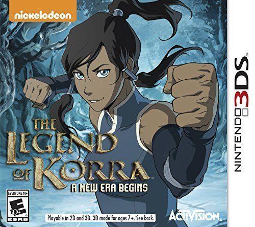 The Legend of Korra A New Era Begins - Nintendo 3DS Video Game New