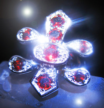 HAUNTED RING OOAK OFFERS ONLY DESCENDANTS OF HIGH FORTUNE MAGICK 925 7 S... - $200.00
