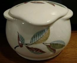 Vtg 1950's Universal Cambridge Potteries Grease Jar mid century modern l... - £21.00 GBP