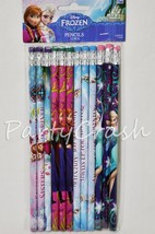 12 Disney Frozen Anna & Elsa Olaf Pencil School Party Favor Supplies - $4.99
