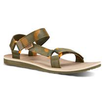 Teva Mens Original Universal Brushed Canvas Sport Sandals 13 Medium Oliv... - $65.71 CAD