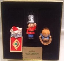 1979 Little Trimmers Hallmark Ornaments #QX159-9 set of three - $79.08