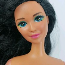 Barbie Kira Asian Doll  Long Black Hair Blue Eyes twist turn  - $11.88
