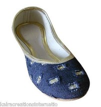 Women Shoes Indian Handmade Ballerinas Leather Flat Jutties US 5-10 - $24.99