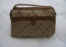 USED/DISNEY STORE/DISNEYLAND/VINTAGE/MICKEY MOUSE/SIGNATURE/SHOULDER Bag - $50.00
