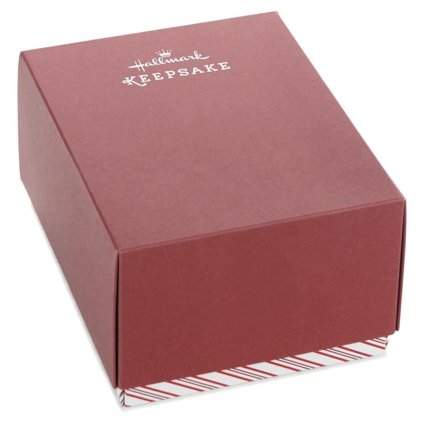 Hallmark Red Bow Tie Penguin Premium Porcelain Ornament