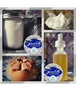 LOVE POTION GIFT SET- Organic Skin Care Body Creme, Artisan Soap & Bath ... - $53.87