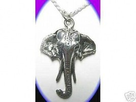 LOOK Hindu Lord Ganesh OM Silver Charm Pendant Jewelry - $13.04