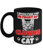 Don't Mess With My Cat 11 oz Black Coffee or Tea Mug - $16.14