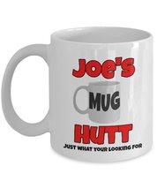 Joe's Mug Hutt Coffee,Tea Mug White - $15.99