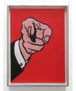 Roy Lichtenstein Finger Pointing 1973 Color Ltd... - $14,850.00