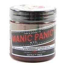 Manic Panic Semi-Permanent Color Cream, Infra Red - $11.99