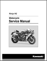 2015-2017 Kawasaki Ninja H2 ( ZX1000NF ) Service Manual on a CD - $12.00