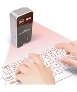 Portable Wireless Virtual Bluetooth Laser Keyboard - £113.98 GBP