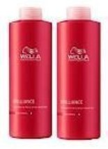 WELLA Brilliance Shampoo & Conditioner Coarse Colored Hair,Liter Duo 33.... - $54.00