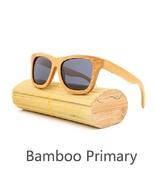 Gray, Men/Woman Glass Bamboo Sunglasses Retro Vintage Wood Lens Handmade - $35.59