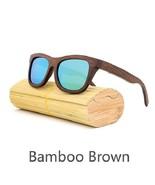 Green II, Men/Woman Glass Bamboo Sunglasses Retro Vintage Wood Lens Hand... - $35.59
