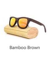 Red II, Men/Woman Glass Bamboo Sunglasses Retro Vintage Wood Lens Handmade - $35.59