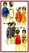 "Vintage Doll Clothing Pattern for 9 1/2"" Skipper No. 2 - $5.99"