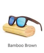 Blue II, Men/Woman Glass Bamboo Sunglasses Retro Vintage Wood Lens Handmade - $35.59