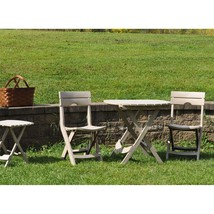3 Piece Patio Bistro Set Balcony Garden Yard Camping Picnic Cafe Folding - £119.07 GBP