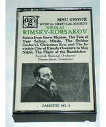 1984 Nikolai Rimsky-Korsakov Scottish National Orchestra Neeme Jarvi Cas... - $18.20