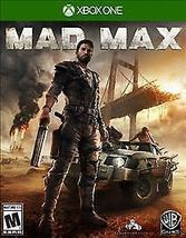 Mad Max (Microsoft Xbox One, 2015) Video Game New - $24.98
