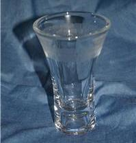 """Partylite Clarity Taper Holder Vase 5"""" High Party Lite"""